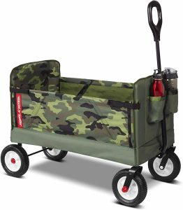 Radio Flyer 3-in-1 collapsible Camo Wagon