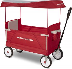 Radio Flyer EZ 3-In-1 collapsible Canopy Wagon