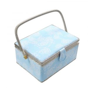 SAXTX Large Sewing Basket with Sewing Accessories