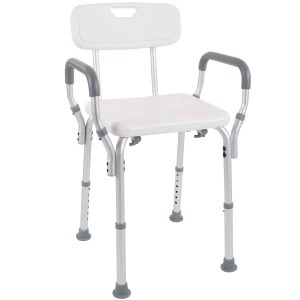 Vive Shower Chair with Back and Arms