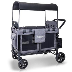 WonderFold collapsible wagon for kids