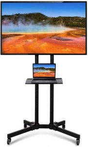 Yaheetech Mobile TV stand