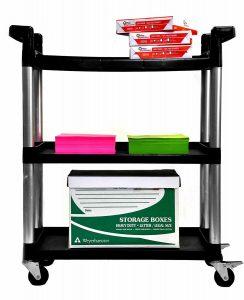 3 selves' utility cart