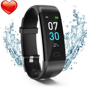 Akuti Fitness Activity Tracker Watch with Heart Rate Monitor