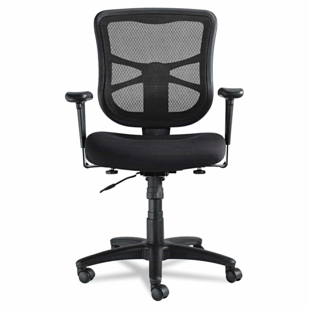 Alera ALEEL42BME10B elusion series mesh midback swivel chair