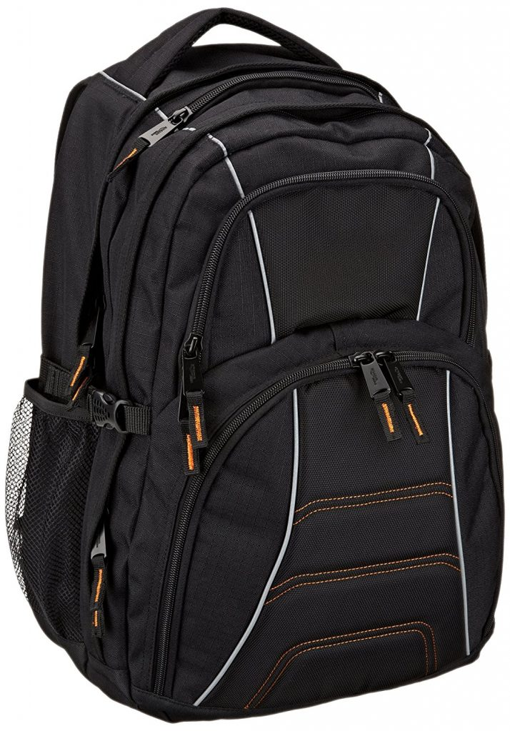 Amazon Basics Backpack for Laptops up to 17-inches