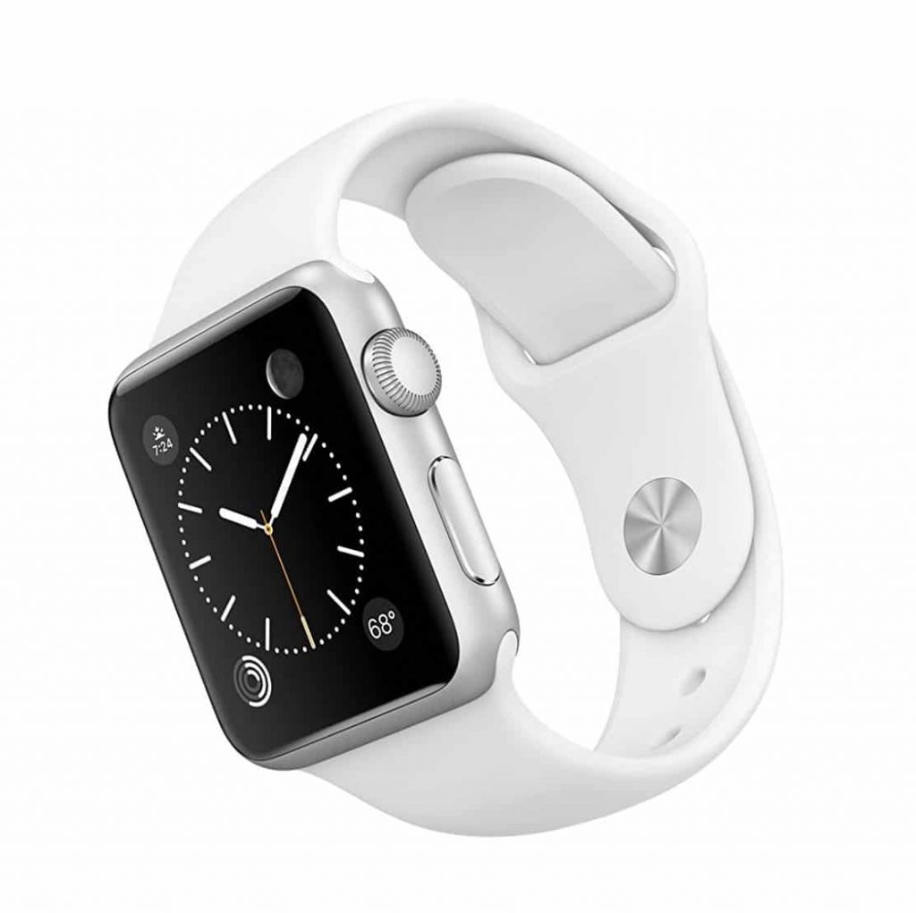Apple Watch 7000 Series 38 mm Aluminum Case White Sport Band