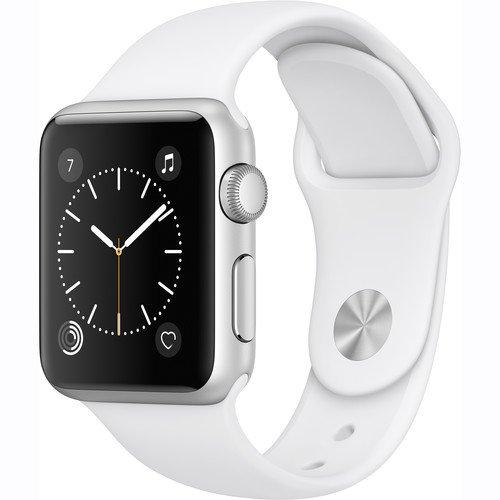 Apple Watch Series 1 Smartwatch, White Sports Band