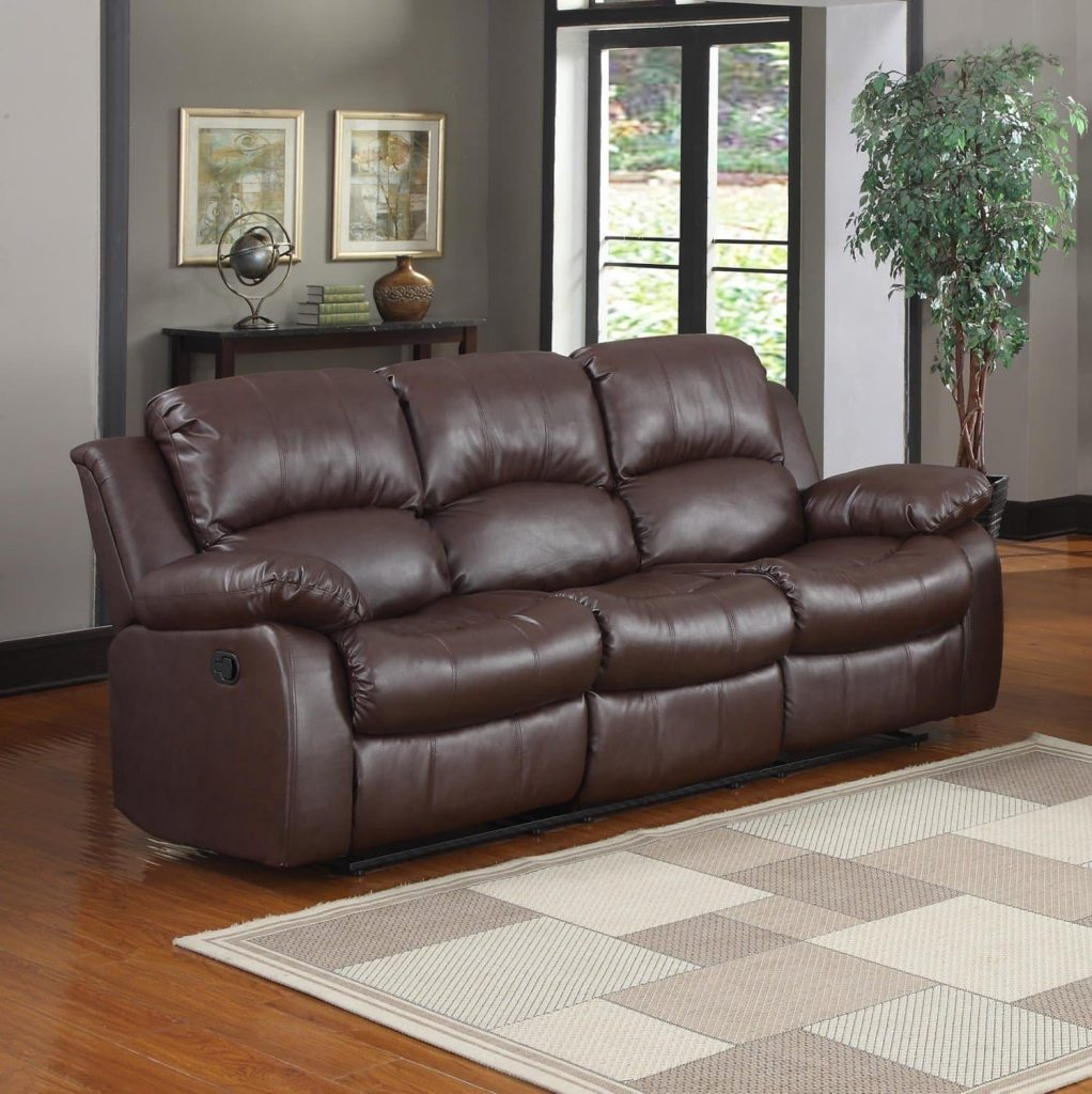 Best Leather Reclining Sofa In 2019 Reviews