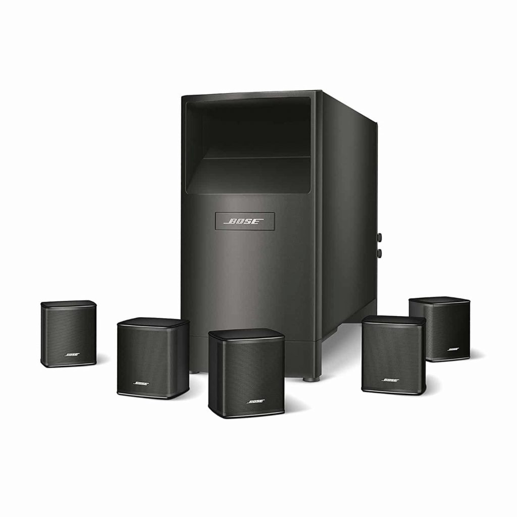Bose Acoustimass 6 Series V Home Theater Speakers System