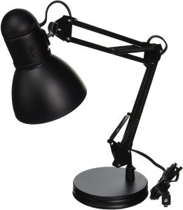 Boston Harbor TL-WKL-134E-BK-3L Desk Lamp