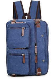Clean Vintage Laptop Hybrid Backpack