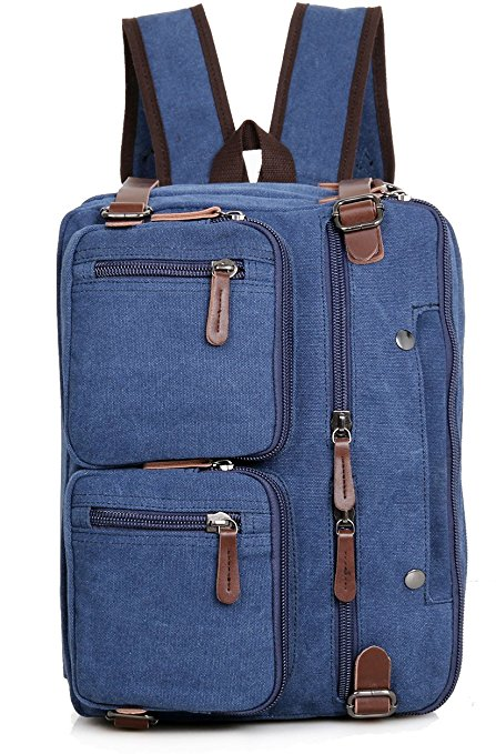 Clean Vintage Laptop Hybrid Backpack