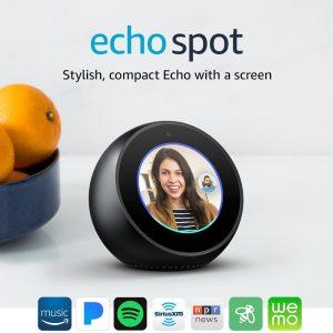 ECHO SPOT BLACK