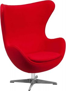 Flash Furniture Egg Chair w/Tilt-Lock Mechanism
