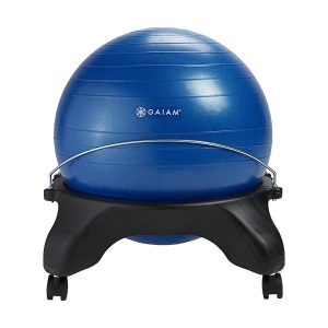 Gaiam Backless Yoga Ball chair