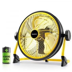 Geek Aire Fan Rechargeable Battery Operated Floor Fan