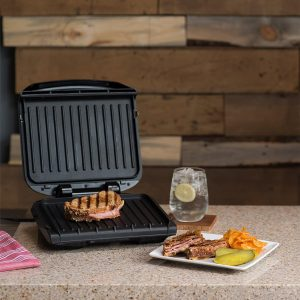 George Foreman 4 Serving Removable Plate Grill
