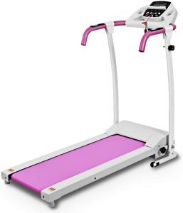 Goplus Folding Electric Motorized Treadmill for Home Use