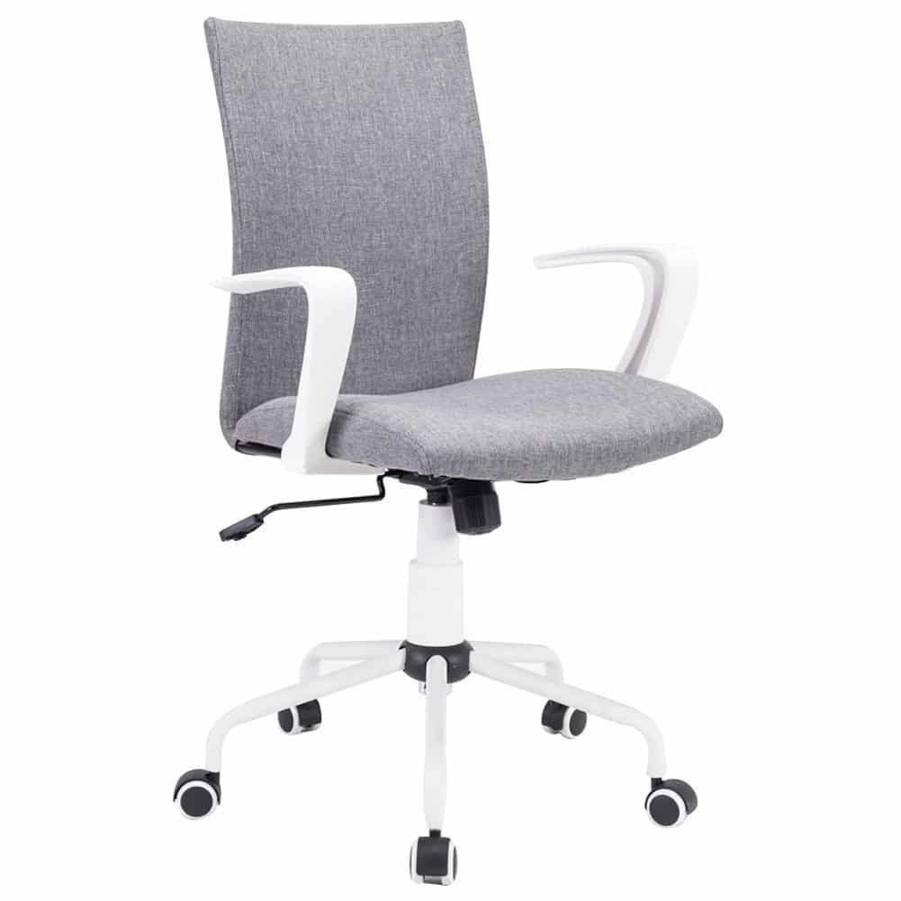 Grey computer desk chair