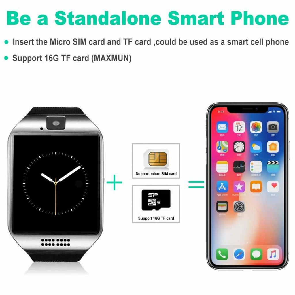 9c8686538d1 IfundaBluetooth SmartWatch with Camera. IfundaBluetooth SmartWatch with  Camera. Bluetooth Smart Watch With Camera Waterproof Smartwatch Touch  Screen Phone ...