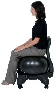 Isokinetic tall boy yoga chair