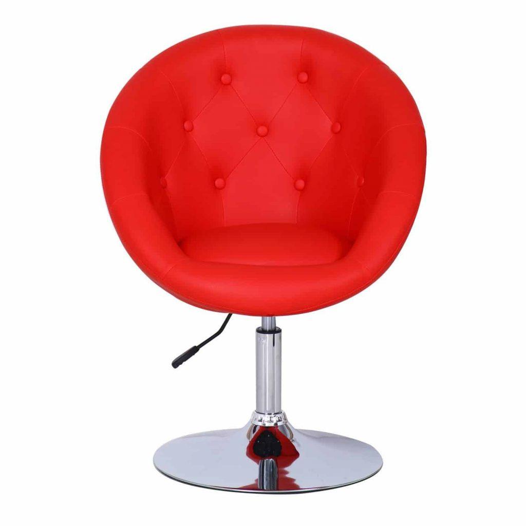 Jove Egg Chair Shape Leatherette Button