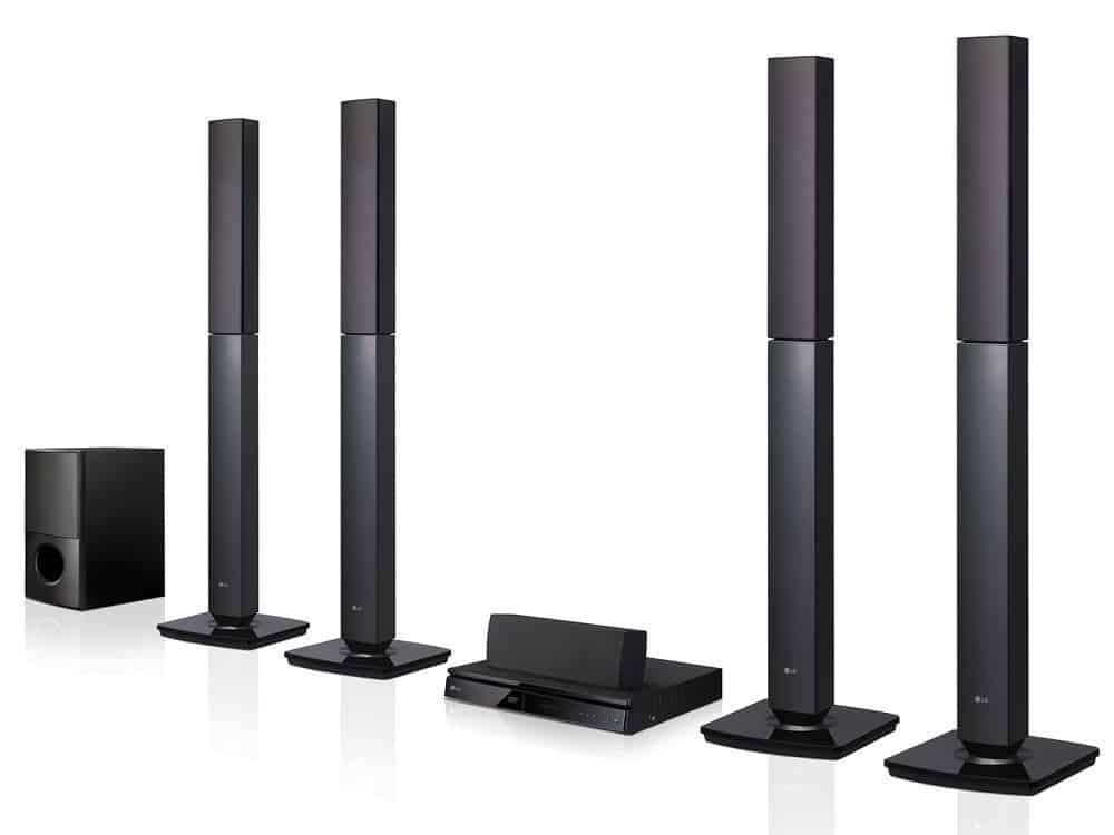 LG LHD657 Bluetooth Multi Region Home Theater Speaker System