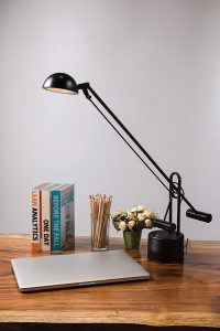 Lite Source LS-306BLK Halotech Desk Lamp