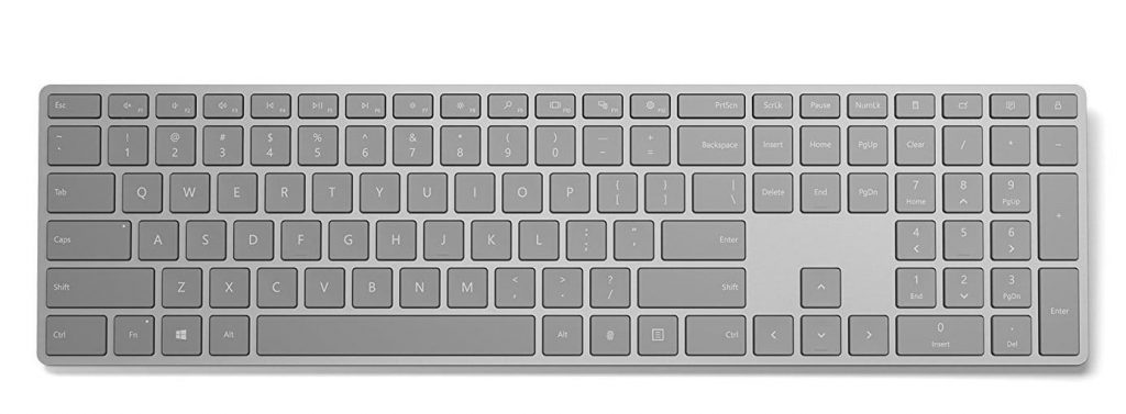 Microsoft Modern Wireless Bluetooth Keyboard With Fingerprint ID