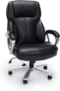 OFM Big and Tall Leather Executive Office Chair