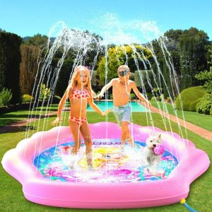 PRINCESSEA USA 4-in-1 Splash Outdoor Pad for Kids