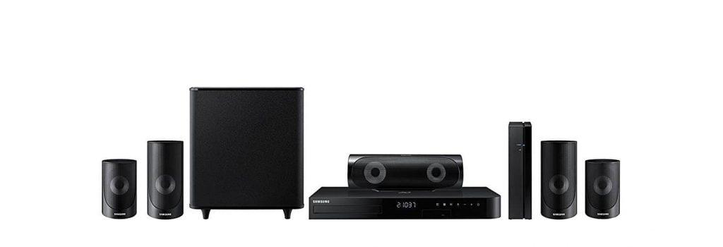 Samsung HT-J5500W 5.1 Channel 1000-Watt 3D Blu-Ray Home Theater System