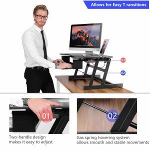 Smonet Standing Desk Converter