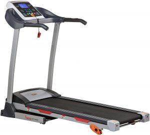 Sunny Health and Fitness Inclining Folding Treadmill