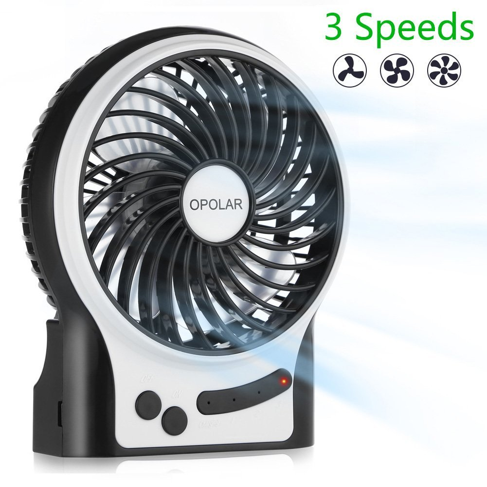 The OPOLAR Rechargeable Fan