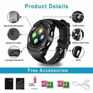 TopflySmart Watch, Bluetooth, Waterproof Smart Watch