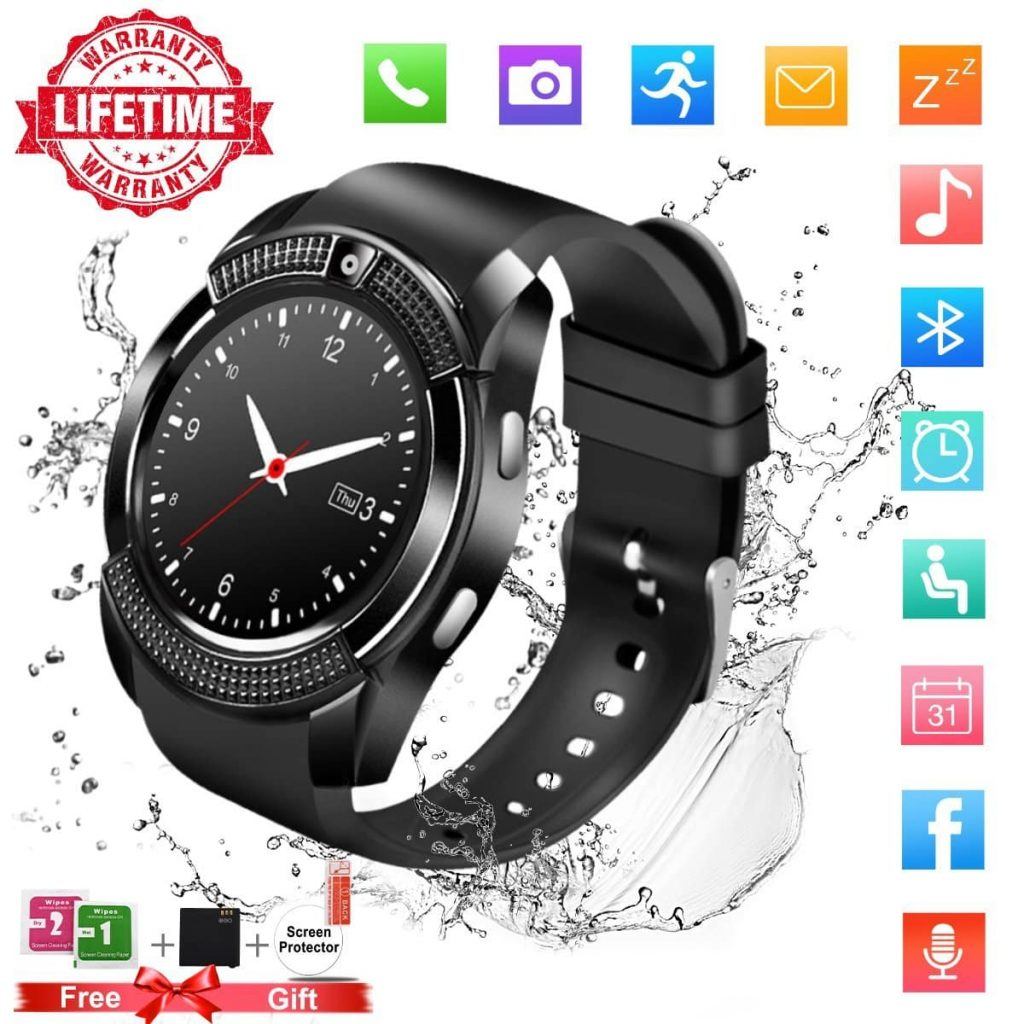 TopflySmart Watch with Bluetooth, 1.54
