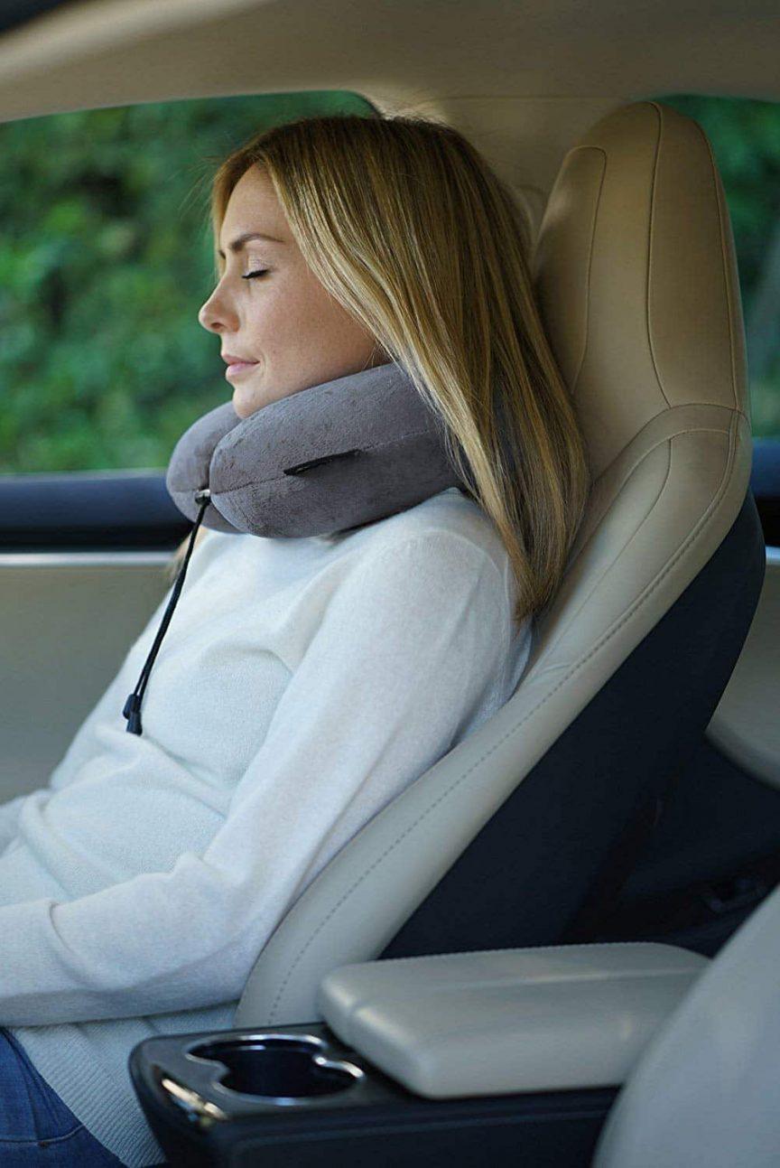 Travel Pillows for car train airplane