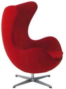 Tribeca Modern Wool Egg Chair