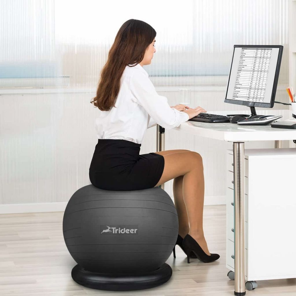 Trideer yoga ball chair