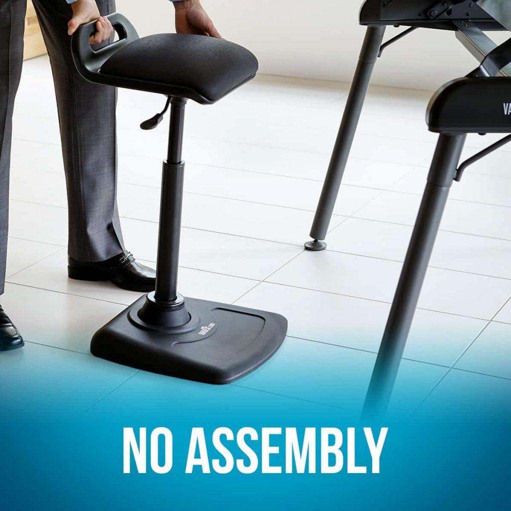 VARIDESK-Adjustable standing desk chair
