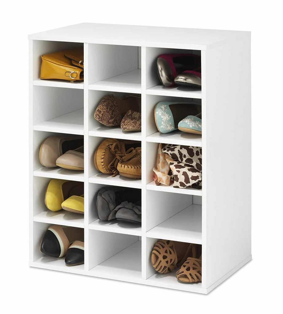 Whitmor Stackable 15-Cubby Storage Organizer