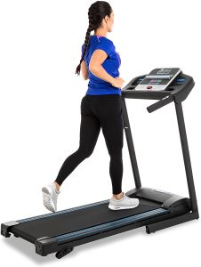 XTERRA TR150 Fitness Folding Treadmill Black
