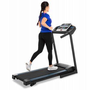XTERRA TR150 Folding Treadmill Black