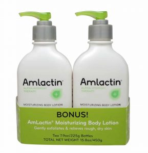 AmLactin Alpha-Hydroxy-Therapy Moisturizing Body-Lotion for Dry-Skin