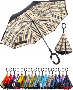 Bagail Double Layer Inverted Umbrellas
