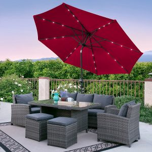 Best Choice products 10 Ft. Deluxe Pation Umbrella