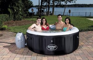 Bestway-SaluSpa Miami-AirJet Inflatable Hot-Tub