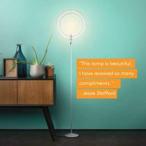 Brightech Eclipse Floor Lamp